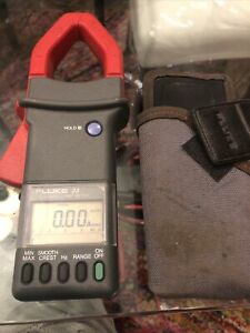 Fluke 33 True Rms Clamp Meter 700 Amps 600 Working Volts Cat 3 Tested Used Read