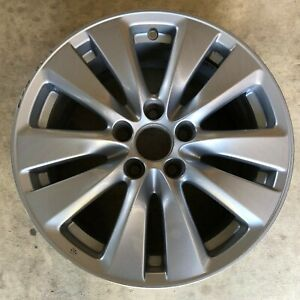 2011 2012 Honda Accord Wheel Rim Factory Original 17x7 5 Oem 64015 Silver