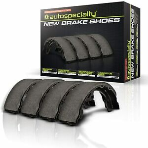 B245 Powerstop Brake Shoe Sets 2 Wheel Set Front Or Rear New For Chevy Olds