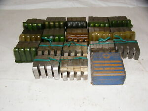 18 Geometric 1 Head Chaser Thread Die Set Lot e pa3