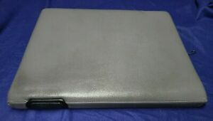 1994 01 Dodge Ram Mist Gray Center Console Armrest Lid Cover W Spring Pin Nice