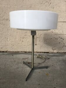 1960s Swedish Luxus Table Lamp Mid Century Modern