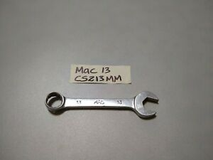Mac Tools Cs213mm 13mm Combination Wrench Short Stubby 12pt Ships Free