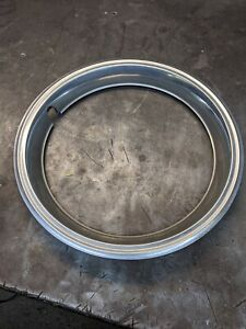 One Vintage 14 Stainless Steel Standard Beauty Ring Trim Ring Hot Rod Rat Rod