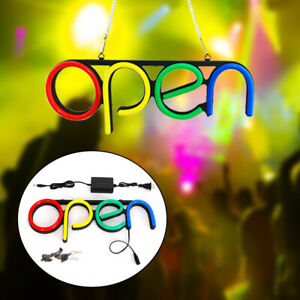 Open Sign Led Neon Light Business Commercial Lighting Bar Club Wall Decor Usa