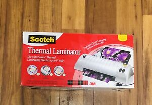 New Scotch Tl901sc Professional Thermal Laminator With 20 Pouches 9