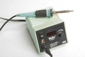 Weller Electronic Control Soldering Station W Iron 120 Vac Ec2002m Needs Tip