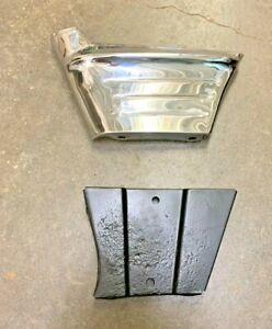 1956 Chevy Fender Extension Moulding With Inner Brace Driver Side