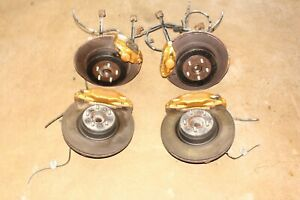 Jdm Subaru Wrx Version 7 Sti 5x100 Disk Brake Conversion Brembo Calipers Oem