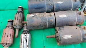 1962 Chevy Impala Bel Air Used Generators Cores Parts 1 Lot Of 5