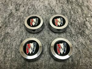 4 1971 87 Buick Rally Wheel Center Caps Regal Skylark Gs Regal 25501094 Rare