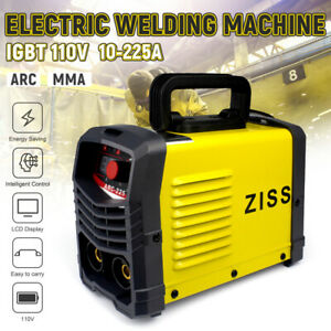 225a 110v Mma Arc Mini Welding Machine Dc Portable Electric Igbt Inverter Welder