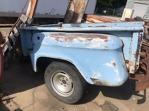 Vintage 50 s 60 s Chevy Truck Bed Man Cave