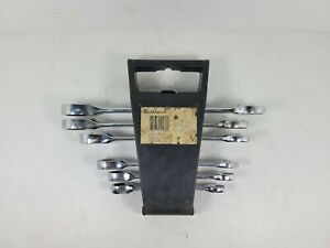 Blackhawk Proto Ratcheting Combination Wrench Partial Set Sae Chrome Twn Bw 1250