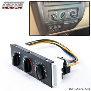 Hvac A C Heater Control With Blower Motor Switch For 1999 2004 Jeep Wrangler