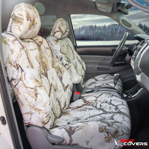Custom Fit Camo Front Seat Covers For The 2015 2018 Chevy Silverado