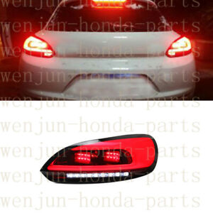 1 Pair Tail Light Brake Lamp Assembly Led Refitting For Vw Scirocco 2009 13