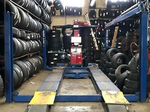 Used 4 Post Alignment Lift Bend Pak heavy Duty 18k Lbs obo