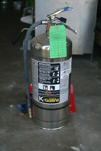 2015 Ansul K class Wet Chemical Fire Extinguisher Hydrotested Serviced