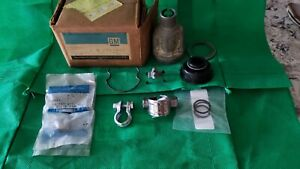 1961 1962 1963 Chevy Impala Steering Column Nos 7811023 Coupler W Complete Kit