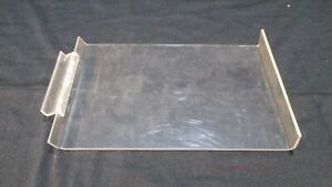 Clear Acrylic Slat Wall Angled Shelves 7 X 10 Inch Store Display Lot Of 10