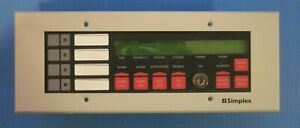 Simplex 4603 9101 Annunciator For 4100 Panel