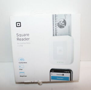Square A sku 0485 Contactless And Chip Reader Credit Card