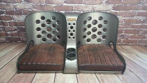 Iron Ace Bomber Bench Seat Rat Rod Seat Hot Rod Bench Seat 40 W Cushions