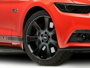 American Muscle Saleen Wheel Black 20x9 Rim Fit Ford Mustang 15 20 Gt Eco V6