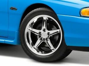 American Muscle 1995 Cobra R Wheel In Chrome 17x9 Fits Ford Mustang 1994 1998