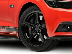 American Muscle Saleen Wheel In Black 19x8 5 For Mustang 15 20 Ecoboost V6