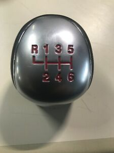 Ford Focus St Oem Shift Knob Gear Selector Red Used