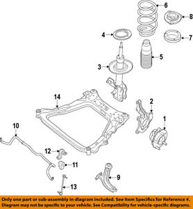 Nissan Oem 14 18 Rogue Front Suspension Spring Seat 540354ba0a