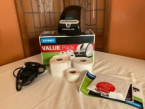 Dymo Labelwriter 450 Thermal Label Printer With Label Rolls