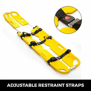 Emt Backboard Spine Board Stretcher Immobilization Kit Scoop Stretcher