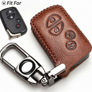 Retro Leather Car Key Fob Case Cover For Lexus Es Gs Is Ls Lx Rx Ct Es350 Is250