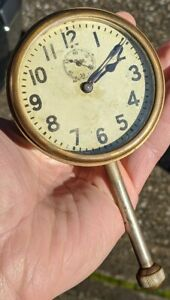 Nice Working Packard 1910 1920 s Brass Era Accessory Dash Clock complete