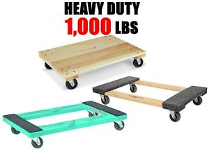 Moving Dolly Furniture Dolly Appliance Dolly Solid Wheel Casters 1000lb Capacity