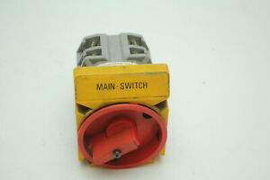 Baco Pr 40 Rotary Cam Switch 380v Main Disconnect Cam Switch Used