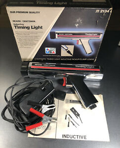 Vintage Craftsman Usa Timing Light Inductive Sears Automotive Gun Untested