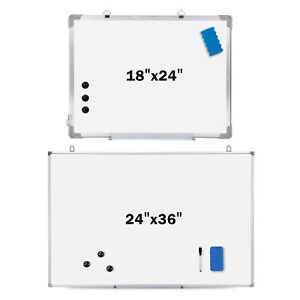 Magnetic Whiteboard Dry 18 36 X 24 Inch Erase White Board Wall Hanging Board