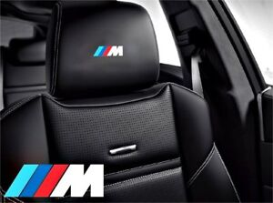 5x m Bmw Sticker Logo For Leather Seats And Other Flat And Smooth Surfaces