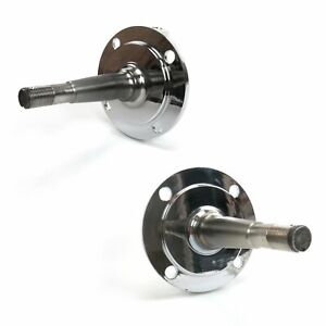 1928 48 Ford Axle Chrome Drum Brake Kit Stock Height Spindles Standard Roadster
