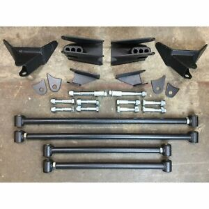 1966 1967 Fairlane Comet Triangulated Rear Suspension Four 4 Link Kit 302 428 V8
