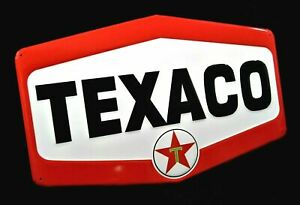 Large Vintage Style 23 Texaco Gas Station Signs Man Cave Garage Decor Oil Can