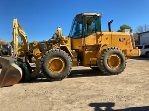 2005 Kawasaki 65z Wheel Loader Q c W forks Inspection operation Video Included