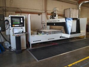 Scm 2003 4 X 10 Routech Record 125 Cnc Router woodworking Machinery