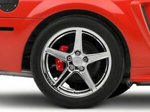 American Muscle Saleen Rear Wheel In Chrome 18x10 Fits Ford Mustang 1999 2004