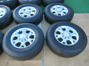 2020 Dodge Ram 2500 Oem Factory 18 Polished Wheels Rims Lt275 70 18 Tires 8x6 5