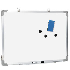 Dry Erase White Board Wall Magnetic Whiteboard 18 X 24 Inch Hanging Board